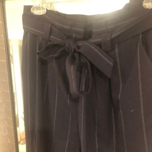 Halogen Navy Trousers, Size 6 from Nordstrom Rack